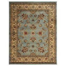 king collection mahal oriental seafoam 5 ft x 7 ft indoor area rug