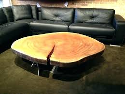how to make a coffee table from a tree stump tree stump coffee table modern why