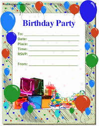 Party Invitations Templates Word Lovely 9 Birthday Party