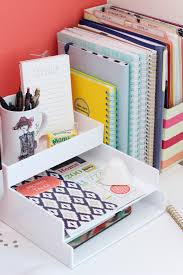 home office desk organization. all kinds of cute yet simple desk and office organizing going on here desktop organization home i