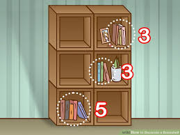 image titled decorate small. Image Titled Decorate A Bookshelf Step 2 Small E