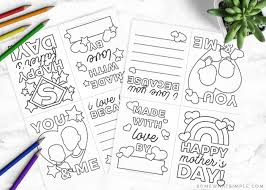 Kids will love giving this special father's day card that they colored to their dad on father's day or attaching it to their gift. Free Printable Mothers Day Cards Fathers Day Cards