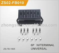 fuse box 6p terminal universal zs02 fb010 oemno 6p fuse box 6p terminal universal zs02 fb010
