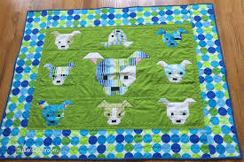 Susie's Sunroom: The Naughty Little Puppy Baby Quilt & Dog Gone Cute Quilt pattern....