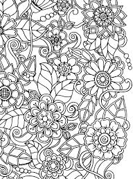15 Crazy Busy Coloring Pages For