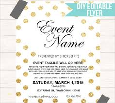 Free Editable Flyer Templates Best Of Event Flyer Templates Free Best Sample Excellent