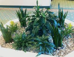 interior landscaping office. Apartment Lobby Planter With Green And Flowering Plants, Stonehill Towers, Stoneham, MA Interior Landscaping Office