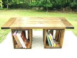 reclaimed pine coffee table colonial box