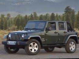 jeep wrangler 4 door soft top army green