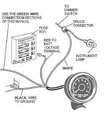 vdo tach wiring diagram wiring diagram chevelle rpm wiring diagram as well fuel sender moreover 78 cj5 sending unit
