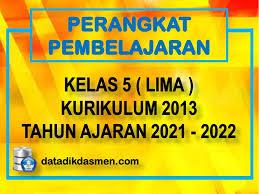 Maybe you would like to learn more about one of these? Perangkat Pembelajaran Lengkap Sd Kelas 5 Kurikulum 2013 Tahun Pelajaran 2021 2022 Datadikdasmen Com