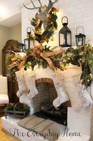 holiday mantel decor  absolutely fabulous christmas mantel decorating ideas