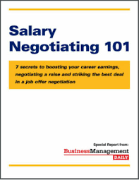 job offer salary salary negotiating 101 7 secrets to boosting your career earnings