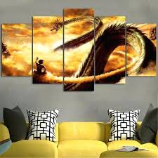 dragon ball z wall art dragon ball z wall art canvas dragon ball z wall art on 5 panel giant dragon wall art canvas with dragon ball z wall art dragon ball z wall art canvas dragon ball z