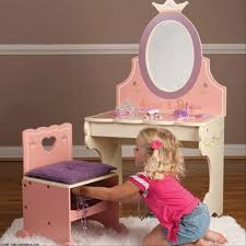 Top Photo Of Levels Of Discovery Princess Vanity Table And Chair Set Photo
