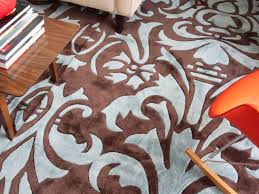 area rugs target magnificent home rug with beautiful white flower motive on brown base color