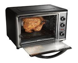 best countertop hamilton beach countertop oven with rotisserie