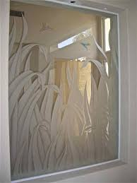 stunning home decor with sandblasted glass doors cool bathroom design and decoration using cream beige