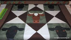 My Crazy Quilting Life | Quilting? With twin 12-year-olds and an ... & Cows for Deb Adamdwight.com