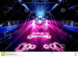 Rave Stage Design Night Party Rave Concert Stage Stock Photo Image Of Arena