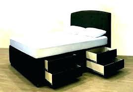 Queen Size Bed Frame With Storage Underneath Queen Size Platform Bed ...