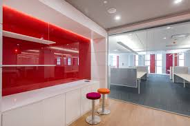 office wall panel. Livinglass Levele Wall Cladding System With Blind Panels In Vivichrome Chromis Office Gl Door Designs Mc Panel