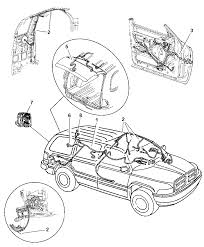 2003 dodge durango wiring body accessories diagram 00i69948
