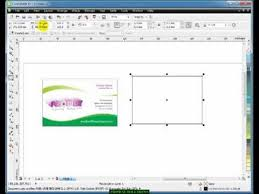 Tutorial Visiting In Hindi Learn Coreldraw Youtube -3- - Card Design