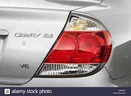 2006 Toyota Camry XLE V6 in Gray - Tail light Stock Photo ...