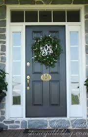 Exterior Door Decorating Entry Door Decor Zampco