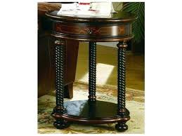 black pedestal coffee table small round furniture wide end kitchen gorgeous tabl side distressed accent