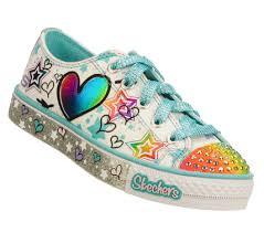 sketchers light up shoes girls. maia shoes - buy skechers girls\u0027 twinkle toes: peekaboo party timez light- sketchers light up girls t