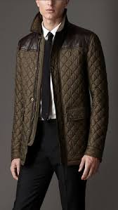 Diamond Quilted Jacket | Burberry | Mens Fashion | Pinterest ... & Leather Detail Quilted Field Jacket | Burberry Adamdwight.com