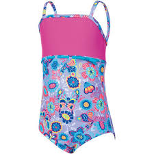 Zoggs Girls Wild Classicback Swimsuit