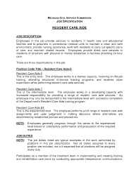 Dietary Aide Resume Objective Free Resume Example And Writing
