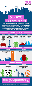 Shanghai Itinerary 3 Days In Shanghai Sightseeing For First Timers