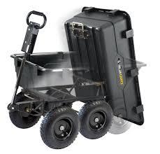 gor866d heavy duty garden cart from gorilla carts