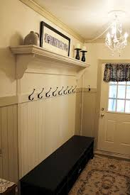 Built In Coat Rack Unique Something Accomplished DIY Pinterest Mudroom Coat Racks And