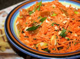 carrot and golden raisin  sultana  salad