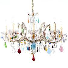 colorful chandelier lighting pink acrylic chandelier