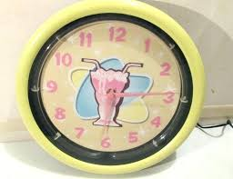 kids room idea paint ideas novelty wall clocks clock a neon gorgeous contemporary nz