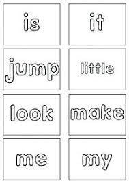 Second Grade Sight Words Flash Cards 2nd Grade Sight Words Printable Free Kindergarten First