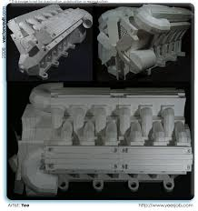 v8 engine vectorvault your imagination is the combination papercraft paper craft paper engine oragami yee v8 engine vectorvault vector s