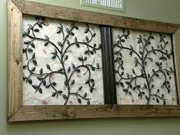 incredible rustic wrought iron wall decor tips ideas wood frame for wrought iron wall art with
