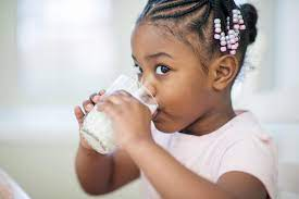 refusing to eat anything but milk