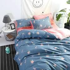navy blue duvet cover navy blue duvet bedding set with flamingo pattern pink duvet cover twin navy blue duvet cover