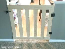 cat gate minute baby pet with door flap australia