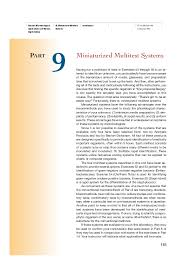 Pdf Miniaturized Multitest Systems Magendira Mani