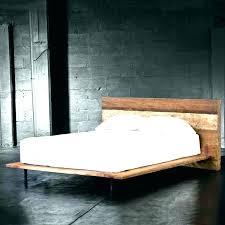 Platform Bed California King King Wood Bed Frame Marvelous King ...