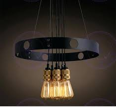 edison bulb chandelier dining room ceiling lights best of in